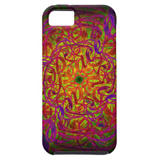 "Inspiration Mandala - ""Peace"" Tough iPhone 5 Case"