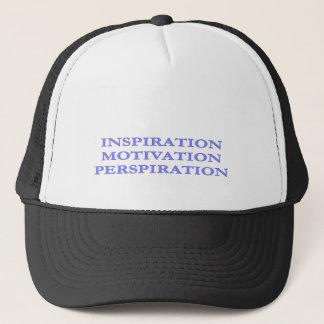 Inspiration, Motivation, Perspiration Trucker Hat