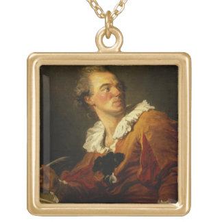 Inspiration (oil on canvas) pendants