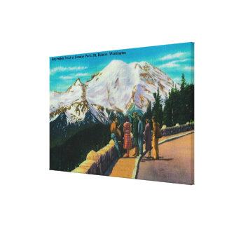 Inspiration Point at Sunrise Park Canvas Print