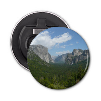 Inspiration Point in Yosemite National Park Bottle Opener