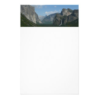 Inspiration Point in Yosemite National Park Stationery Paper