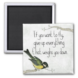 inspiration square magnet