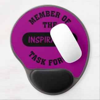 Inspiration Task Force Member Gel Mouse Pad