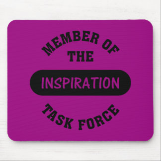 Inspiration Task Force Member Mouse Pad