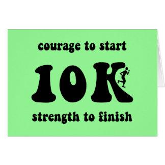Inspirational 10K Card
