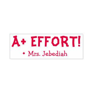 """Inspirational """"A+ EFFORT!"""" Teacher Rubber Stamp"""