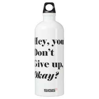 Inspirational and Encouraging quote SIGG Traveller 1.0L Water Bottle