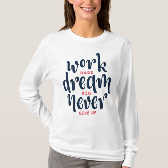 Inspirational and Motivational Quot | Sleeve Shirt