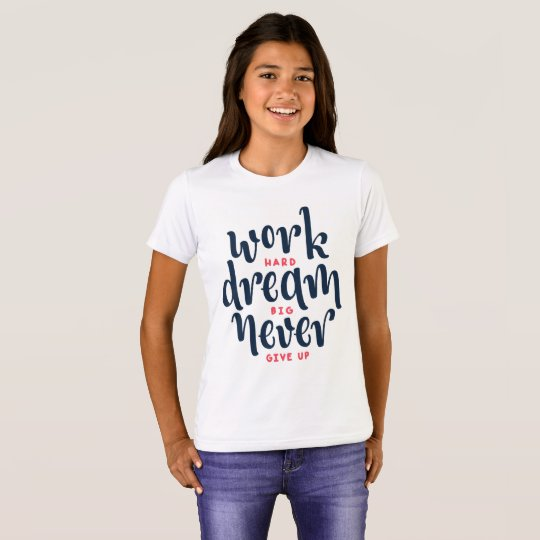 Inspirational and Motivational Quote | Crew Shirt