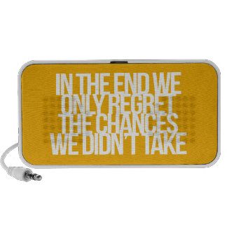 Inspirational and motivational quote speaker system