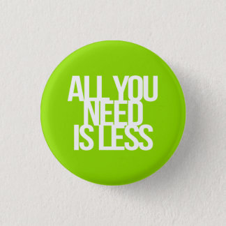 Inspirational and motivational quotes 3 cm round badge