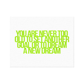 Inspirational and motivational quotes canvas print