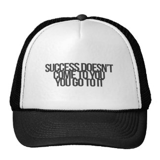 Inspirational and motivational quotes trucker hat