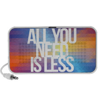 Inspirational and motivational quotes iPod speaker