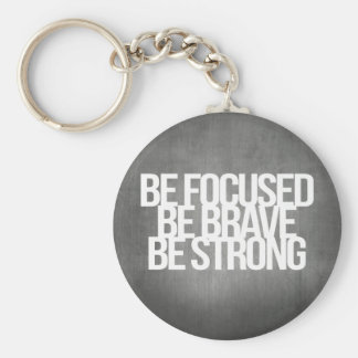 Inspirational and motivational quotes key ring