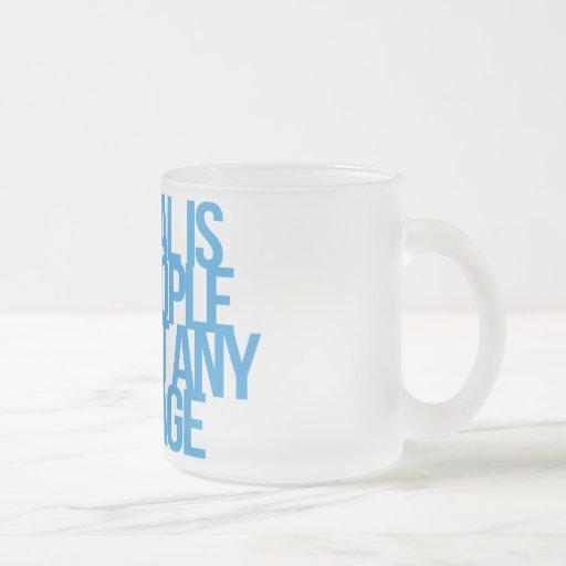 Inspirational and motivational quotes mug