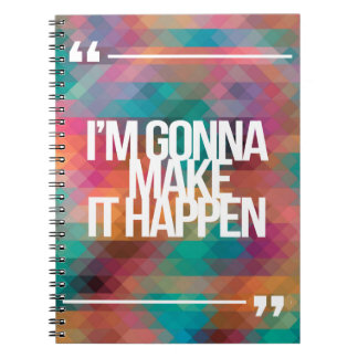 Inspirational and motivational quotes notebook