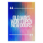 Inspirational and motivational quotes poster