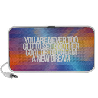 Inspirational and motivational quotes iPhone speaker