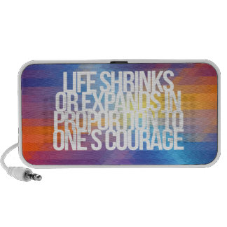 Inspirational and motivational quotes iPhone speakers