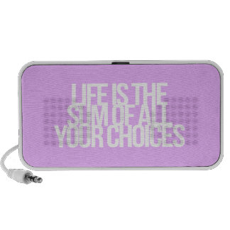 Inspirational and motivational quotes portable speakers
