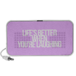 Inspirational and motivational quotes portable speaker