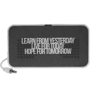 Inspirational and motivational quotes mp3 speakers