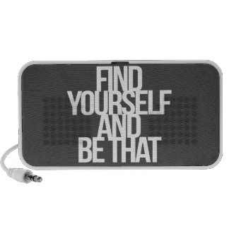 Inspirational and motivational quotes speaker system