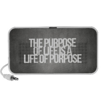 Inspirational and motivational quotes iPod speakers