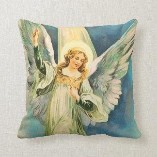 Inspirational Angel Christmas Cushion