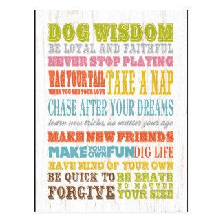 Inspirational Art - Dog Wisdom Postcards