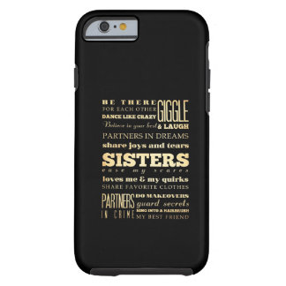 Inspirational Art - Sisters Tough iPhone 6 Case