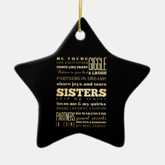Inspirational Art - Sisters Christmas Ornament