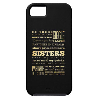 Inspirational Art - Sisters Tough iPhone 5 Case