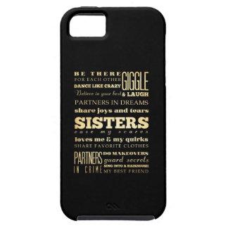 Inspirational Art - Sisters Tough iPhone 5 Case