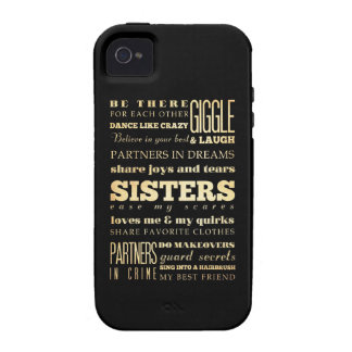 Inspirational Art - Sisters Vibe iPhone 4 Cover