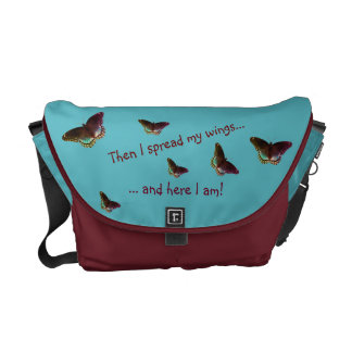 Inspirational Bag Medium - Rise Up Courier Bag