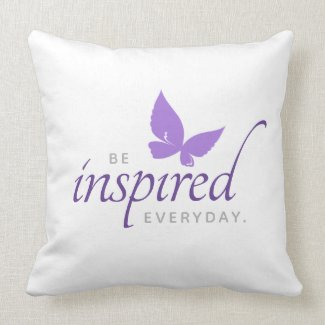 Inspirational Be Inspired Everyday Cushion