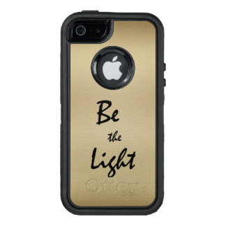 Inspirational Be the Light OtterBox iPhone 5/5s/SE Case
