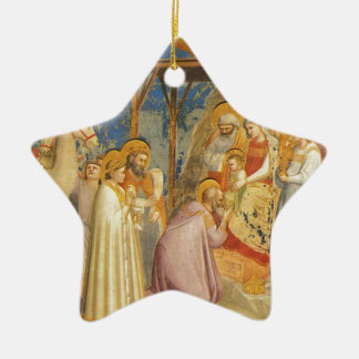Inspirational-Bible Blessing Fine Painting  Jesus Christmas Ornament