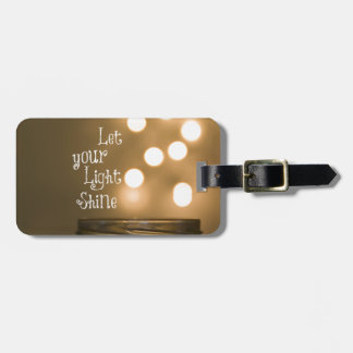 Inspirational Bible Verse Christian Quote Luggage Tag
