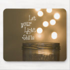 Inspirational Bible Verse Christian Quote Mouse Mat