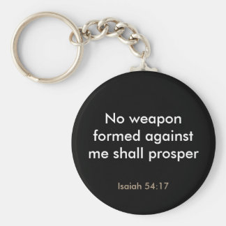 Inspirational Bible Verse Keychain