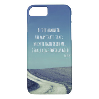 Inspirational Bible Verse Quote iPhone 7 Case