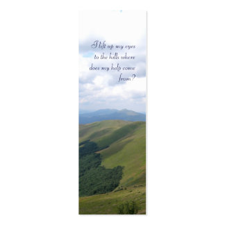 Inspirational  - Bookmark Business Cards