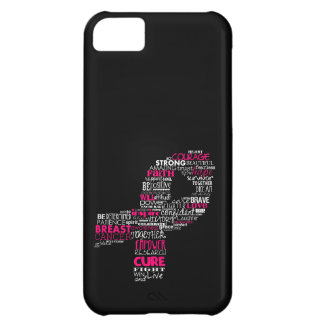 Inspirational Breast Cancer Awareness Ribbon iPhone 5C Case