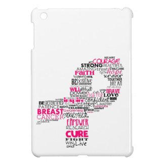 Inspirational Breast Cancer Awareness Ribbon iPad Mini Case