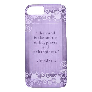 Inspirational Buddha Quote Typography iPhone 8/7 Case