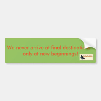 Inspirational Bumper Sticker - Keep Moving